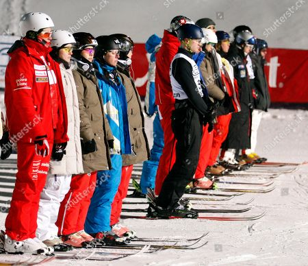 Sarah Burke Competitors in the men's and women's aerials World Cup freestyle skiing event in Lake Placid, N.Y., pause for a moment of silence for Canadian freestyle skier Sarah Burke on . Burke died Thursday, Jan. 19, 2012, nine days after crashing at the bottom of the superpipe during a training run in Utah. She was 29