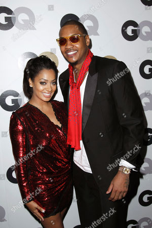 "Carmelo Anthony, LaLa Vasquez Carmelo Anthony, LaLa Vasquez arrives at the 16th annual GQ ""Men of the Year"" party in Los Angeles"