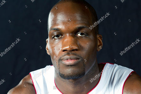 Joel Anthony Miami Heat player Joel Anthony poses for photos during the team's media day, in Miami