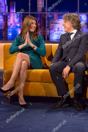 Sharon Horgan and Alan Davies