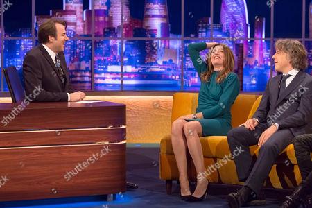 Jonathan Ross, Sharon Horgan and Alan Davies