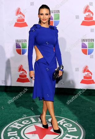 Argelia Atilano Argelia Atilano arrives at the 12th Annual Latin Grammy Awards on in Las Vegas