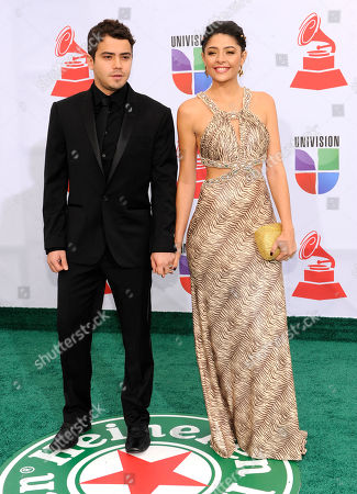 Catalina Mesa, Andres Saavedra Andres Saavedra and wife Catalina Mesa arrive at the 12th Annual Latin Grammy Awards on in Las Vegas
