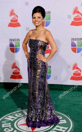Karen Hoyos Karen Hoyos arrives at the 12th Annual Latin Grammy Awards on in Las Vegas