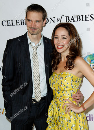Stock Photo of Autumn Reeser, Jesse Warren Actress Autumn Reeser, right, and Jesse Warren arrive at the March of Dimes 6th Annual Celebration of Babies Luncheon in Beverly Hills, Calif