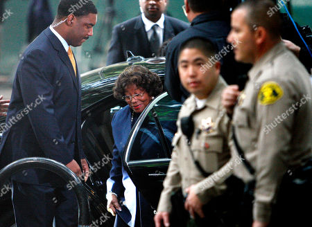 Michael Jackson's mother Katherine Jackson, arrives for the sentencing of Conrad Murray, convicted of involuntary manslaughter in the death of pop star Michael Jackson, at the Los Angeles Criminal Justice Center