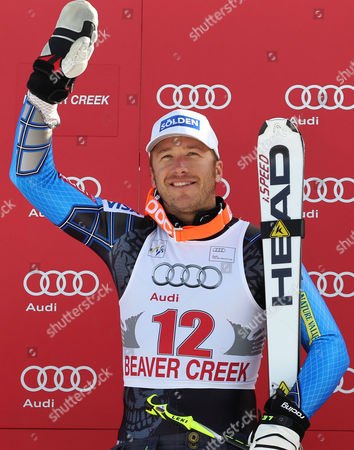 Miiller Bode Miller gesturing from the podium after winning a men's World Cup downhill ski competition in Beaver Creek, Colo. Miller has announced that he's engaged to professional volleyball player Morgan Beck. The five-time Olympic Alpine skiing medalist tweeted their engagement Monday night, Sept. 17, 2012