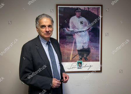 "Ralph Nader Ralph Nader stands next to his poster of Lou Gehrig in his office in Washington. Over a five-decade career in America's consumer movement, Nader has fought against the auto industry over safety and has targeted businesses he blamed for water pollution, nursing home fraud, and more. Now the sports industry is drawing an increasing share of Nader's attention and anger - it's ""spinning out of control,"" he says, amid sex-abuse scandals, labor strife and rampant commercialization"