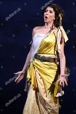 """Lisette Oropesa Lisette Oropesa performs as Miranda during the final dress rehearsal of """"The Enchanted Island,"""" at the Metropolitan Opera in New York. """"The Enchanted Island"""" had its world premiere at the Metropolitan Opera on New Year's Eve Dec. 31, 2011"""