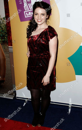 """Lindsay Pearce Lindsay Pearce arrives at the Grand Opening Fundraiser Gala of a Lythgoe Family Production of """"A Snow White Christmas,""""in Los Angeles"""