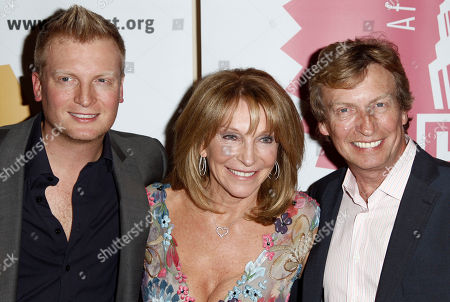 "Kris Lythgoe, Bonnie Lythgoe, Nigel Lythgoe Kris Lythgoe, left, Bonnie Lythgoe, center, and Nigel Lythgoe pose together at the Grand Opening Fundraiser Gala of a Lythgoe Family Production of ""A Snow White Christmas,""in Los Angeles"