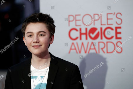 Greyson Chance Greyson Chance arrives at the People's Choice Awards on in Los Angeles