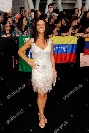 """Andrea Gabriel Andrea Gabriel arrives at the world premiere of """"The Twilight Saga: Breaking Dawn - Part 1"""", in Los Angeles"""