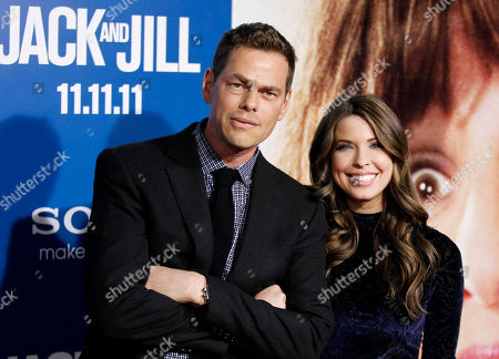 """Vince Offer Vince Offer, left, arrives at the premiere of """"Jack and Jill"""", in Los Angeles. """"Jack and Jill"""" opens in theaters Nov. 11, 2011"""