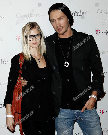 Chad Michael Murray, Kenzie Dalton Chad Michael Murray, right, and Kenzie Dalton arrive at the Google and T-Mobile party celebrating the launch of Google Music, in Los Angeles