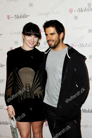 Victoria Asher, Eli Roth Victoria Asher, left, and Eli Roth arrive at the Google and T-Mobile party celebrating the launch of Google Music, in Los Angeles