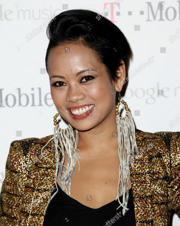 Stock Image of Anya Ayoung-Chee Anya Ayoung-Chee arrives at the Google and T-Mobile party celebrating the launch of Google Music, in Los Angeles