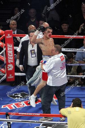 Editorial image of Tapia Ruiz Boxing, New York, USA