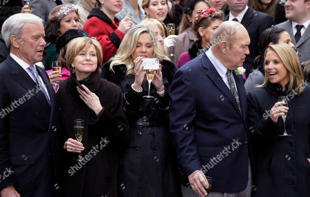 Editorial photo of Today Show 60th Anniversary, New York, USA