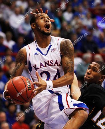 Editorial image of Towson Kansas Basketball, Lawrence, USA