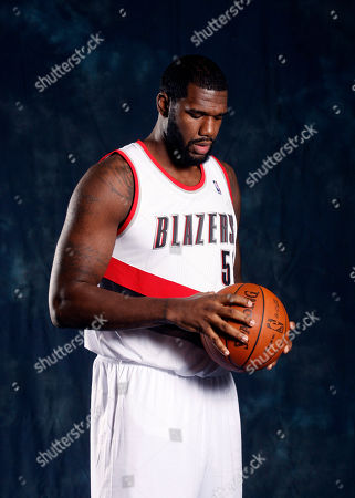 Stock Picture of Greg Oden Portland Trail Blazers' Greg Oden poses for his Trail Blazers' media day photo, in Portland, Ore