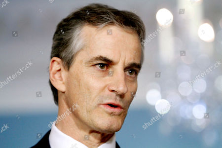 Jonas Gahr Stoere Norwegian Foreign Minister Jonas Gahr Stoere speaks at the State Department in Washington, during his meeting with Secretary of State Hillary Rodham Clinton