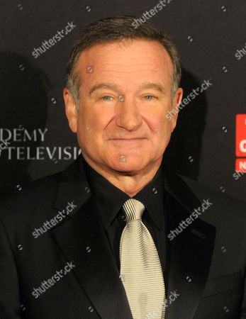 Robin Williams Actor Robin Williams arrives at the British Academy of Film and Television Arts Los Angeles Britannia Awards in Beverly Hills, Calif. For comedians, there was very little to laugh about in 2014. Three pioneering comic legends died - David Brenner, Joan Rivers and Williams