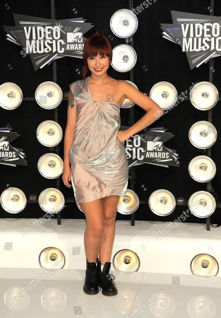 Liz Lee Liz Lee arrives at the MTV Video Music Awards, in Los Angeles