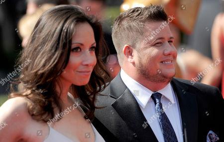 Chaz Bono, Jennifer Elia Chaz Bono, right, and Jennifer Elia arrive at the Primetime Creative Arts Emmy Awards on in Los Angeles