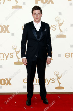 Stock Picture of Corey Monteith Cory Monteith arrives at the 63rd Primetime Emmy Awards on in Los Angeles