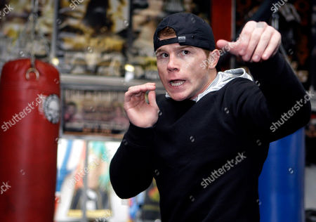 Saul Alvarez WBC super welterweight champion Saul Alvarez, of Mexico, works out for media in Los Angeles, . Alvarez is scheduled to meet Alfonso Gomez in a boxing match Sept. 17 in Los Angeles