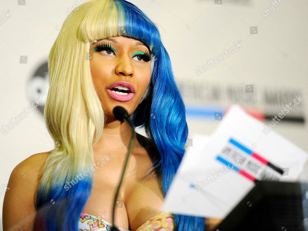 Nicky Minaj Nicky Minaj announces nominations for the 2011 American Music Awards, in Los Angeles. The awards will be held in Los Angeles on November 20