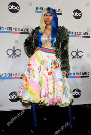 Nicky Minaj Singer Nicky Minaj poses after announcing nominations for the 2011 American Music Awards, in Los Angeles. The awards will be held in Los Angeles on November 20