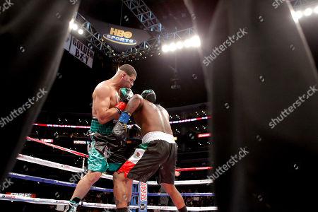 Editorial image of Bozella Hopkins Boxing, Los Angeles, USA