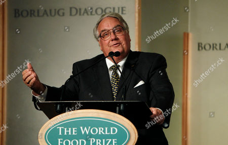 Howard Buffett Philanthropist Howard Buffett speaks at the World Food Prize symposium in Des Moines, Iowa. A billionaire's son and gentleman farmer, Buffett is helping launch a new effort to fight hunger in rural areas. He is calling on other farmers to donate proceeds from one acres of their crops to help supply food pantries in agricultural areas. Advocates for the hungry say rural areas are more likely to be underserved by food programs