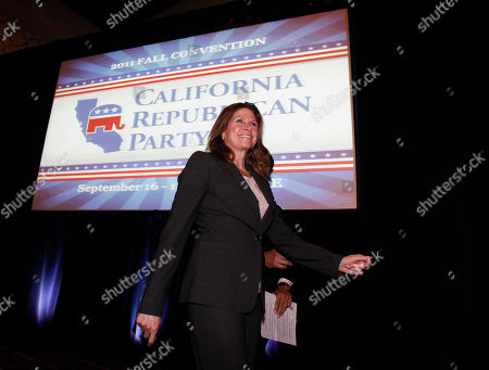 Mary Bono Mack Rep. Mary Bono Mack (R-Calif.), arrives at the California Republican Party Fall Convention dinner in Los Angeles