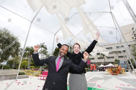 Lucas Rivera and Rachel Moore