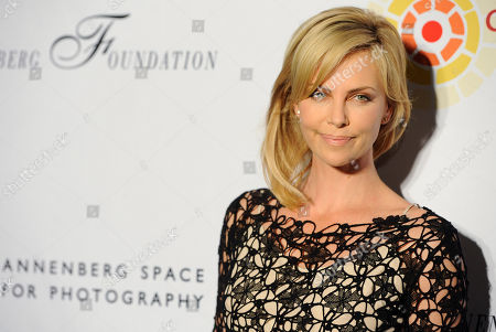 Editorial photo of Charlize Theron Africa Outreach Project, Los Angeles, USA
