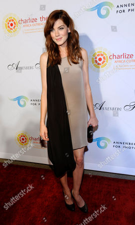 """Michelle Monaghan Actress Michelle Monaghan poses at a cocktail party featuring the world premiere of the celebrity photo series, """"REACH: 24 portraits by Randall Slavin to benefit the Charlize Theron Africa Outreach Project,"""", at The Annenberg Space for Photography in Los Angeles. The CTAOP is committed to reducing the prevalence of HIV/AIDS and sexual violence among African youth"""
