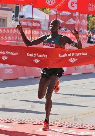 Editorial picture of Chicago Marathon, Chicago, USA