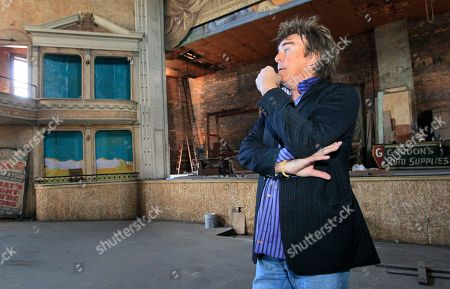 Drew Hastings Comedian Drew Hastings stands inside the opera house he purchased and plans on renovating, in Hillsboro, Ohio. The veteran stand-up comic is running for mayor of the southern Ohio town as a Republican. Hastings has a national following from years of working comedy clubs and humor shows on television and radio. He is now building a political following in Hillsboro, winning a three-way Republican primary this year