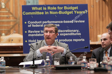 Kent Conrad Senate Budget Committee Chairman Sen. Kent Conrad, D-N.D., outlines his suggestions on how to better approach the budget process, on Capitol Hill in Washington