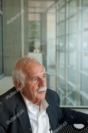 Moshe Safdie Architect Moshe Safdie is interviewed at Crystal Bridges Museum of American Art in Bentonville, Ark