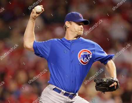 Kerry Wood Chicago Cubs relief pitcher Kerry Wood in action against the Cincinnati Reds in a baseball game, in Cincinnati