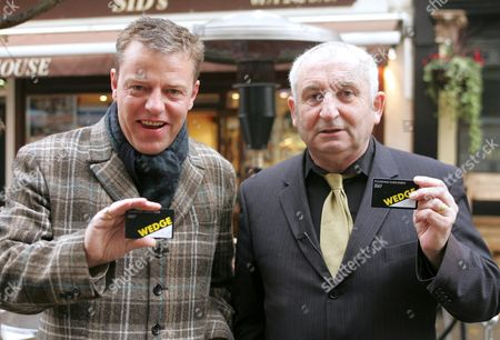 Suggs and John Bird - John Bird and his daughter Diana Bird are behind a new scheme to preserve local independent shops. The Wedge card a new affinity and discount card was launched today with the help of Suggs.A range of shops will be included in the scheme which will initially be available in the West End, Bloomsbury and Southwark.