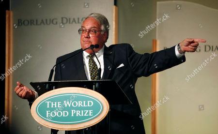 Howard Buffett Philanthropist Howard Buffett speaks at the World Food Prize symposium, in Des Moines, Iowa