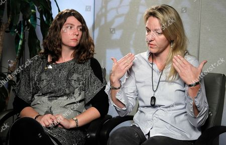 Kerry Cahill, Keely Vanacker Kerry Cahill, right, and her sister Keely Vanacker, daughters of Michael Cahill one of the 13 people killed in Nov. 5, 2009, shooting rampage at Fort Hood, Texas, speak to the Associated Press during an interview in Washington