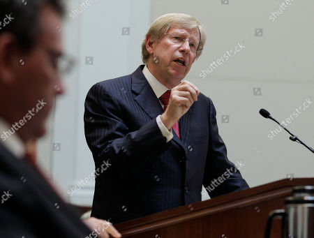 Theodore Olson Attorney Theodore Olson speaks in a courtroom during a California State Supreme Court hearing in San Francisco, . On Tuesday, the California Supreme Court will be considering whether the sponsors of Proposition 8 have a legal right to appeal the federal court ruling that overturned the same-sex marriage ban, since the governor and attorney general refused to bring such an appeal. The 9th US District Court of Appeals, which has main responsibility for the case on appeal, asked the state court to weigh in on the question it deals with the state's ballot initiative process