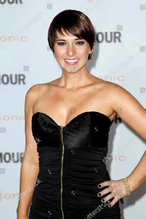 """Joanna Canton Actress Joanna Canton arrives at a screening for """"Glamour Reel Moments"""" in Los Angeles, . """"Glamour Reel Moments"""" is a short film series that turns personal stores submitted by Glamour readers and turns them into short films"""