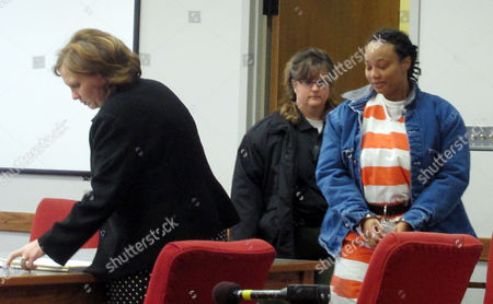 Kristen Smith, arrives for a hearing in Tipton, Iowa. A federal grand jury has indicted Smith, Wednesday, Feb. 19, on federal charges alleging that she kidnapped her half sister's newborn from Wisconsin and left him behind an Iowa gas station in freezing weather